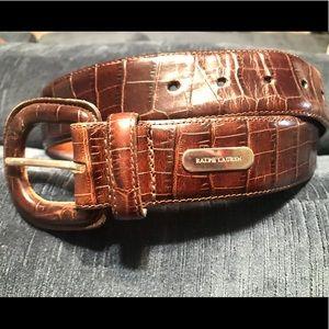 Ralph Lauren Belt — Genuine Leather